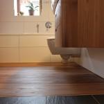 Fußboden aus Ulme